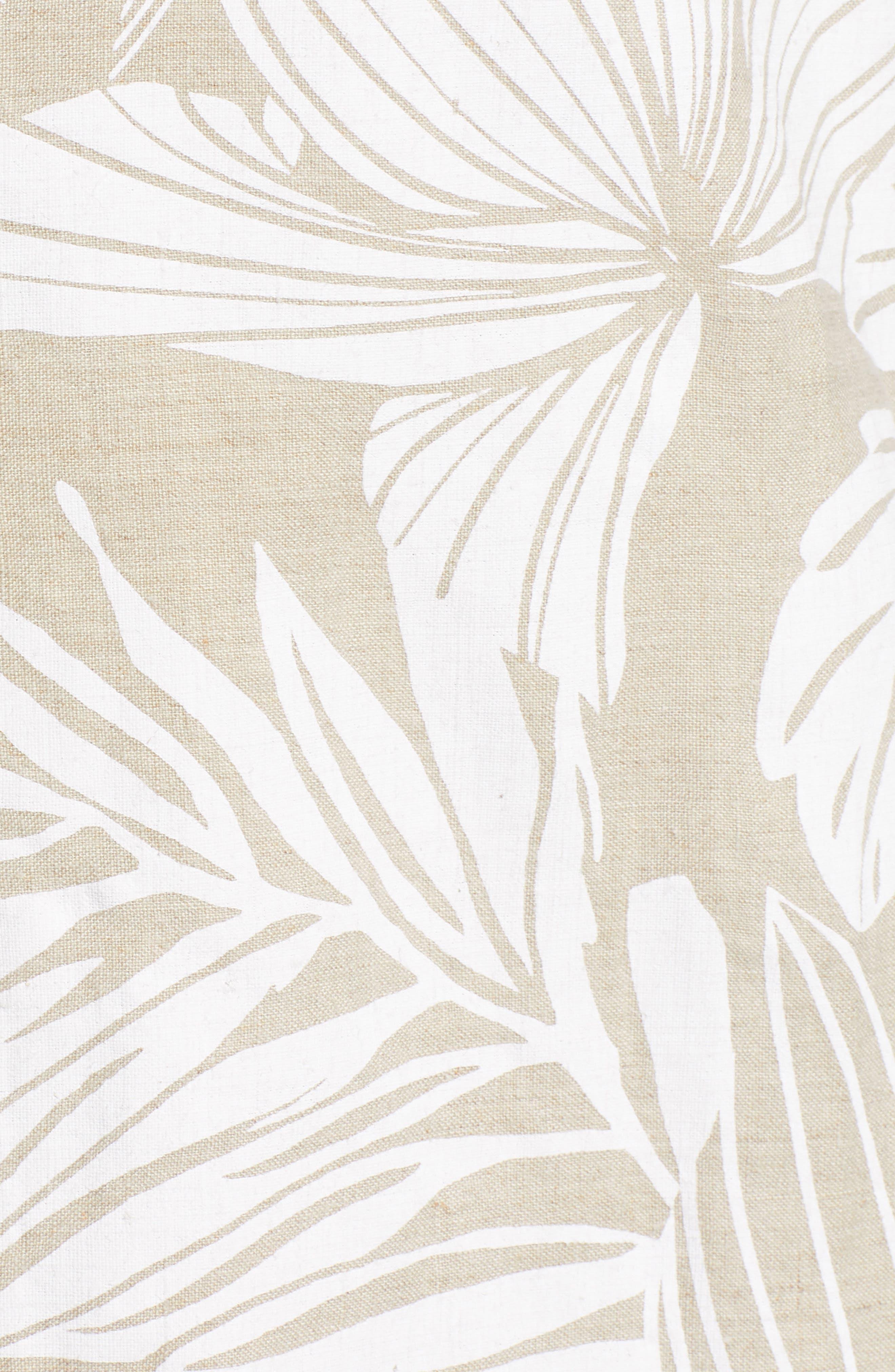 ,                             Mahana Linen Shift Dress,                             Alternate thumbnail 6, color,                             NATURAL LINEN