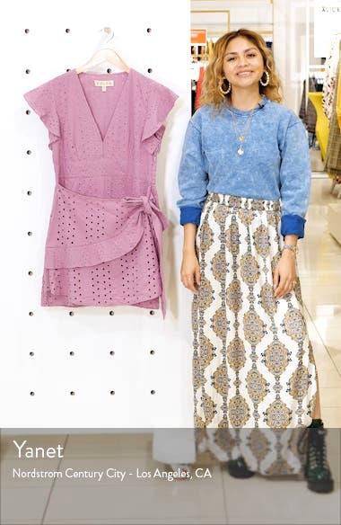 Patsy Eyelet Minidress, sales video thumbnail