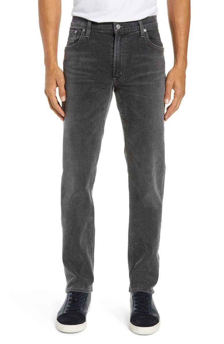 CITIZENS OF HUMANITY PERFORM - Bowery Slim Fit Jeans, Main, color, AVENGER