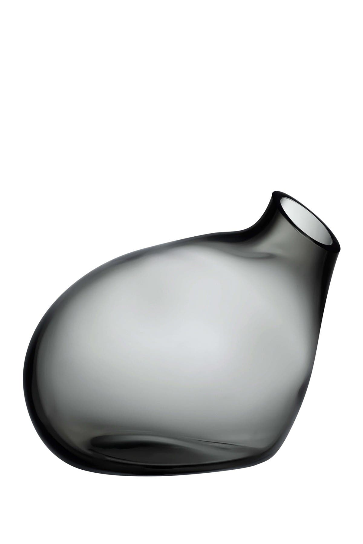 Image of Nude Glass Bubble Vase - Small - Smoke
