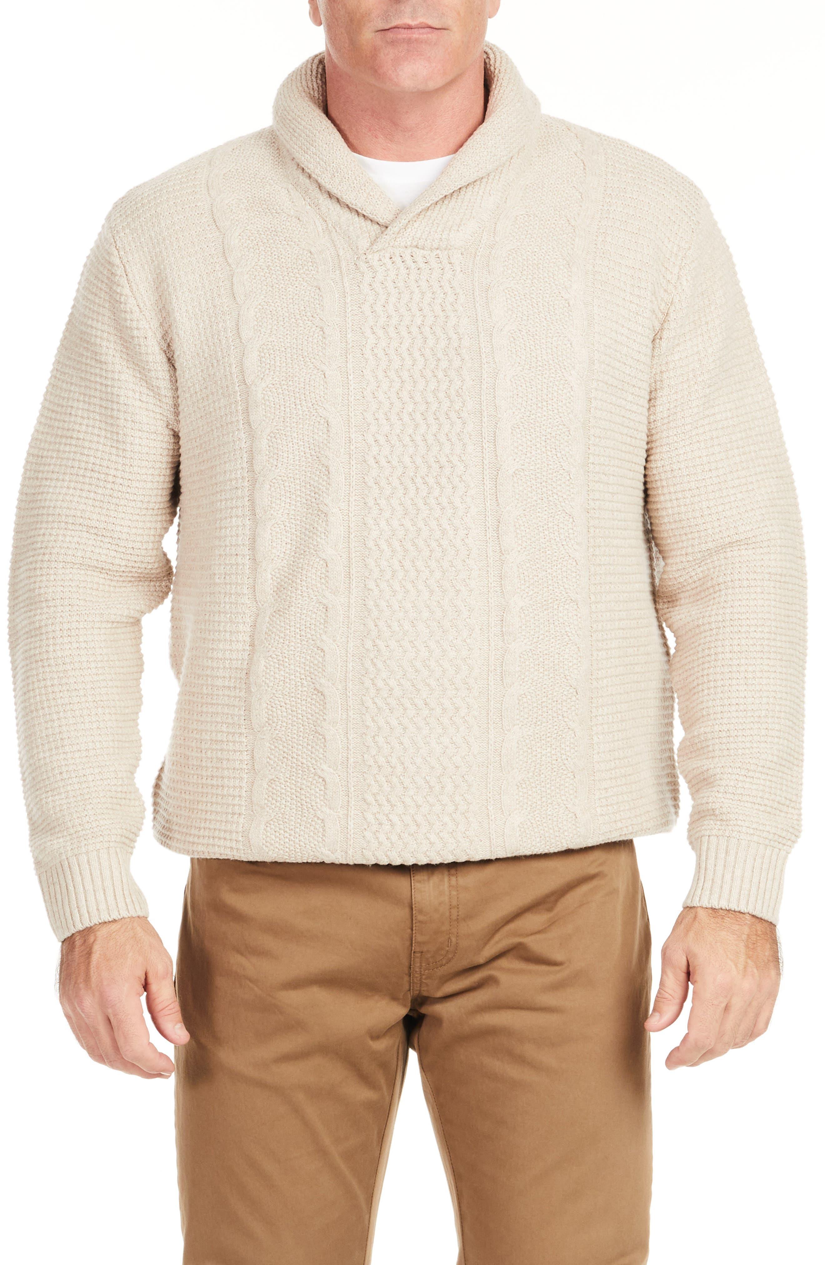 Kingston Shawl Collar Sweater