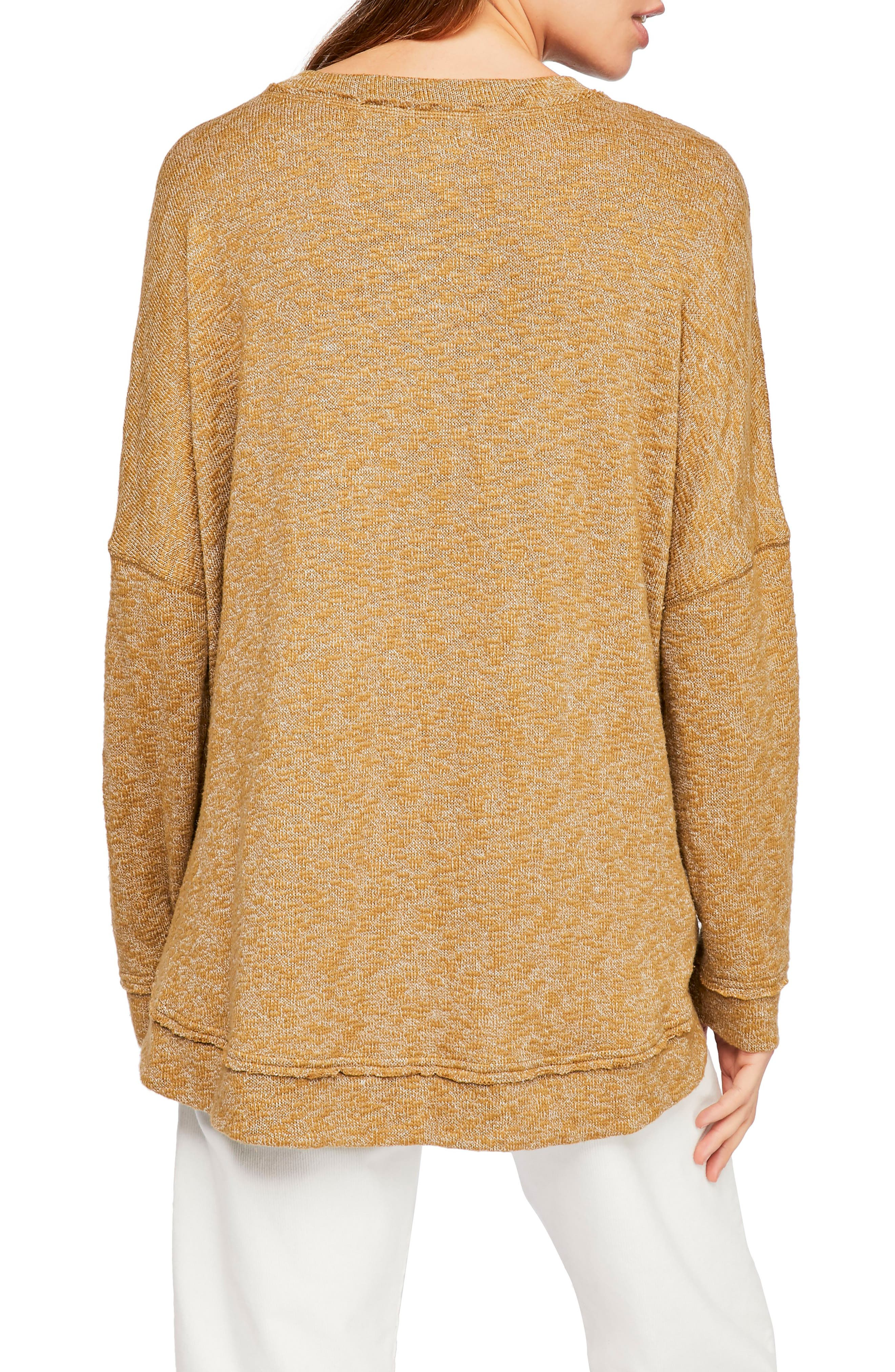,                             Endless Summer by Free People Sleep to Dream Knit Top,                             Alternate thumbnail 2, color,                             MOSS