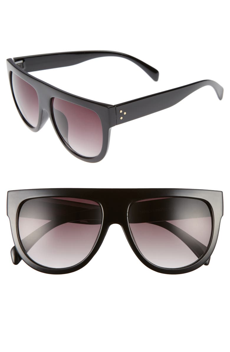 BP. Lunette 40mm Shield Sunglasses, Main, color, 001
