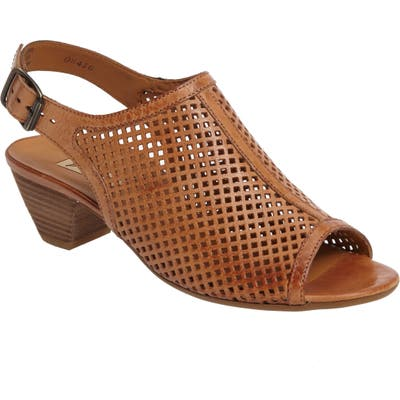 Paul Green Lois Slingback SandalUS /4UK - Brown