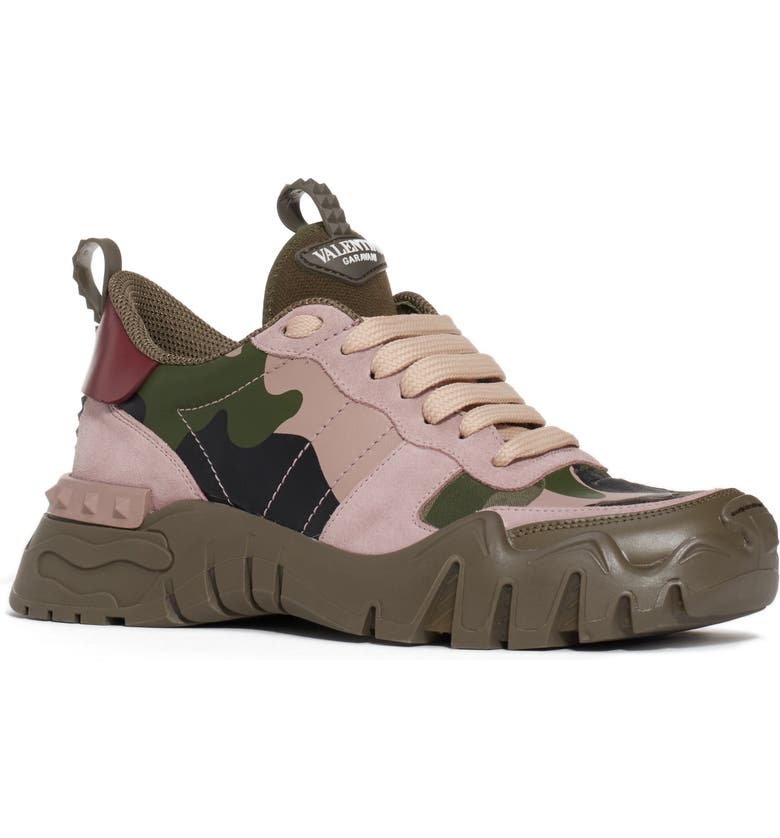 VALENTINO GARAVANI Valentino Rockrunner Sneaker, Main, color, CAMO