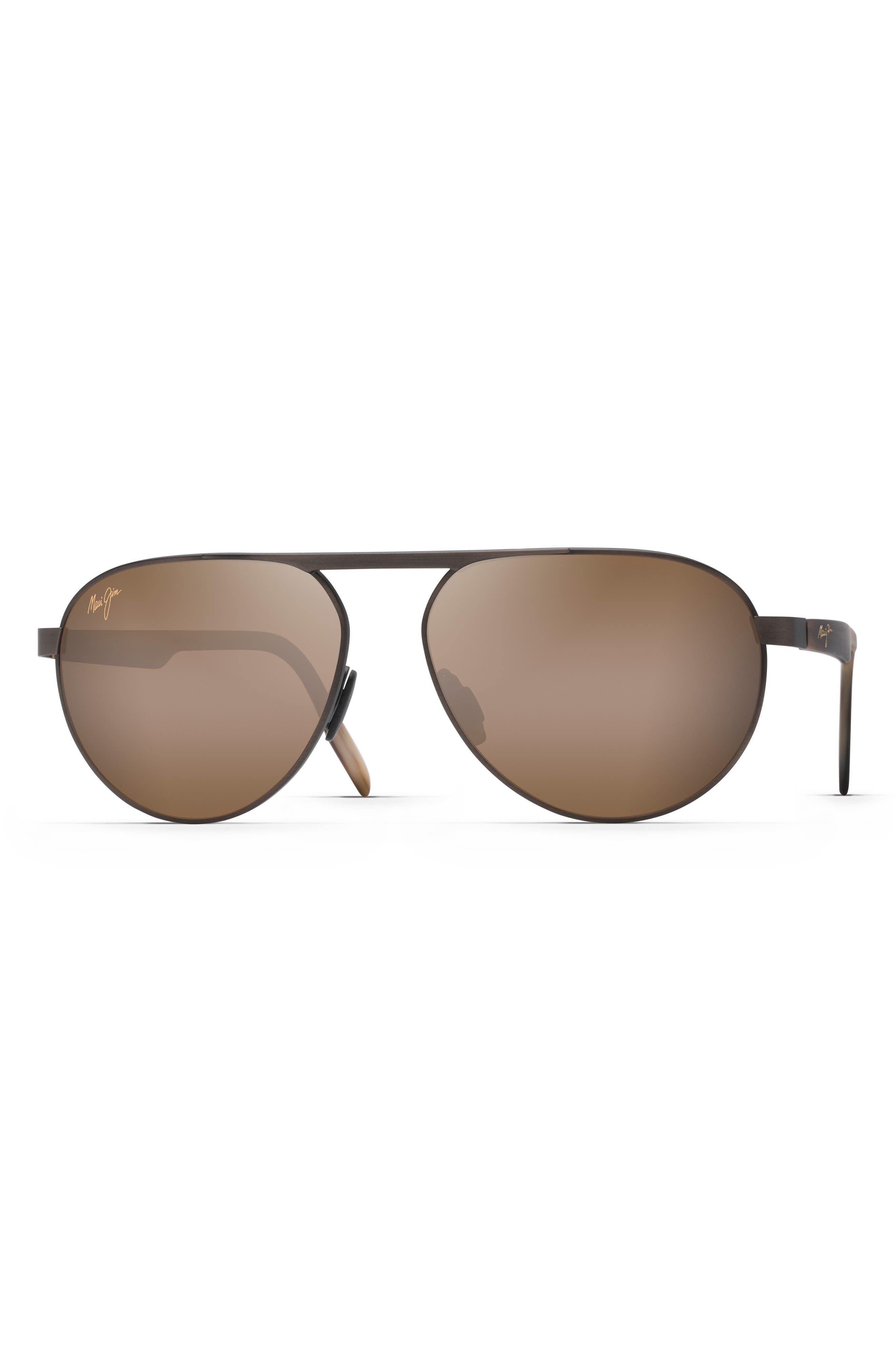 Swinging Bridges 61mm Polarized Aviator Sunglasses