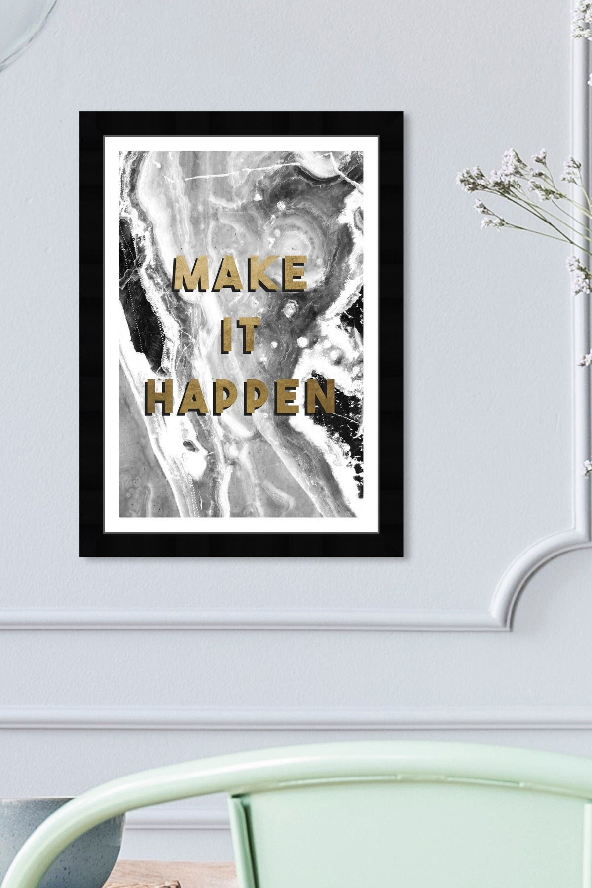 Image of Wynwood Studio Make It Happen Framed Art