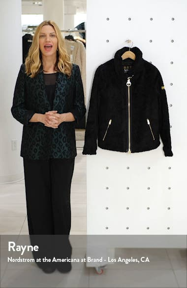 Langstone Faux Fur Coat, sales video thumbnail