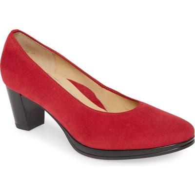 Ara Ophelia Pump, Red