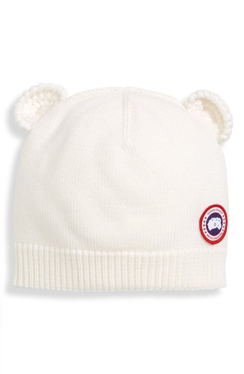 CANADA GOOSE Cub Wool Hat, Main, color, 100