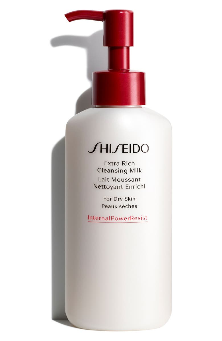 SHISEIDO Extra Rich Cleansing Milk, Main, color, NO COLOR