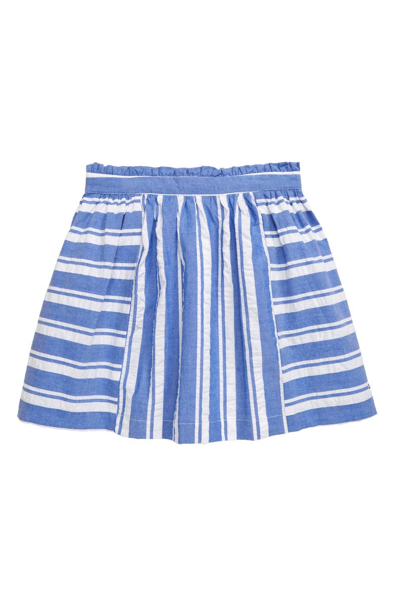 TOMMY HILFIGER Seersucker Skirt, Main, color, 463