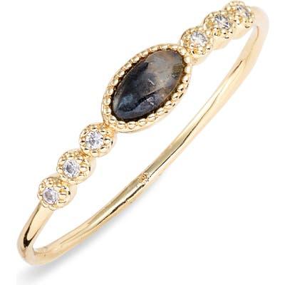 Gorjana Eloise Semiprecious Stone Ring