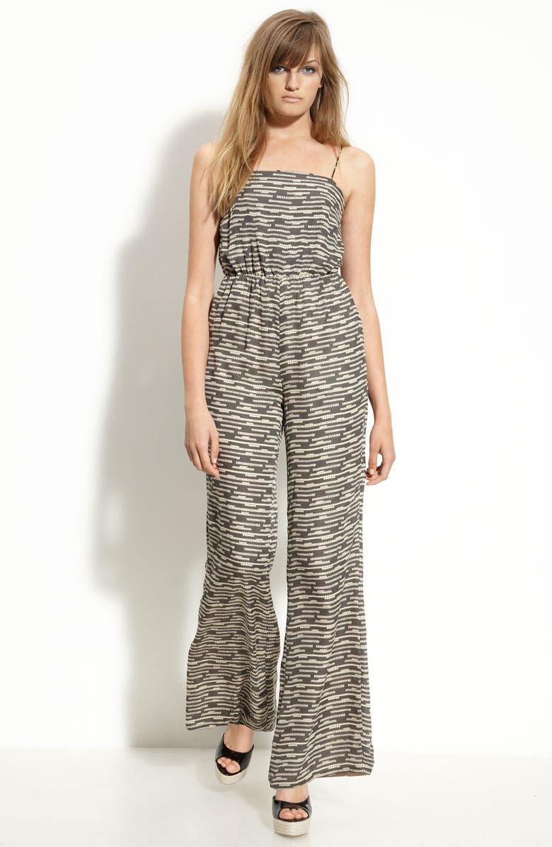 RADENRORO 'Arnita' Silk Jumpsuit, Main, color, 020