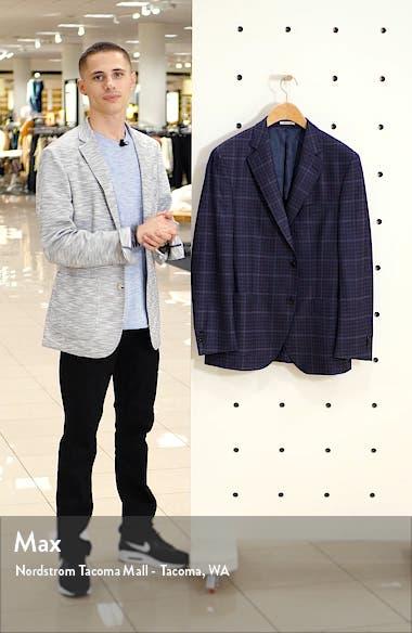Hyperlight Classic Fit Plaid Wool Sport Coat, sales video thumbnail