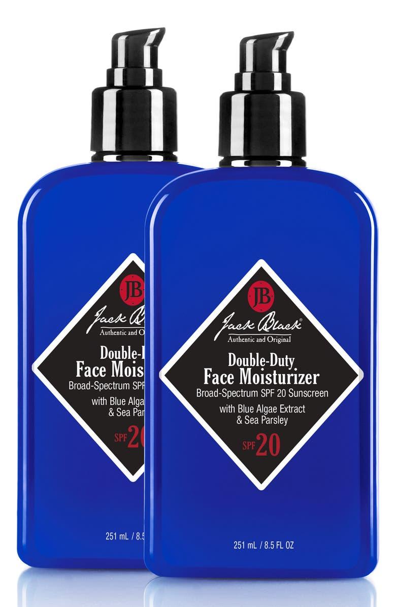 JACK BLACK Double Duty Face Moisturizer Duo, Main, color, 000