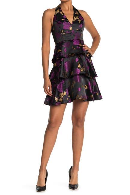 Image of RACHEL Rachel Roy Suzette Jacquard Mini Dress