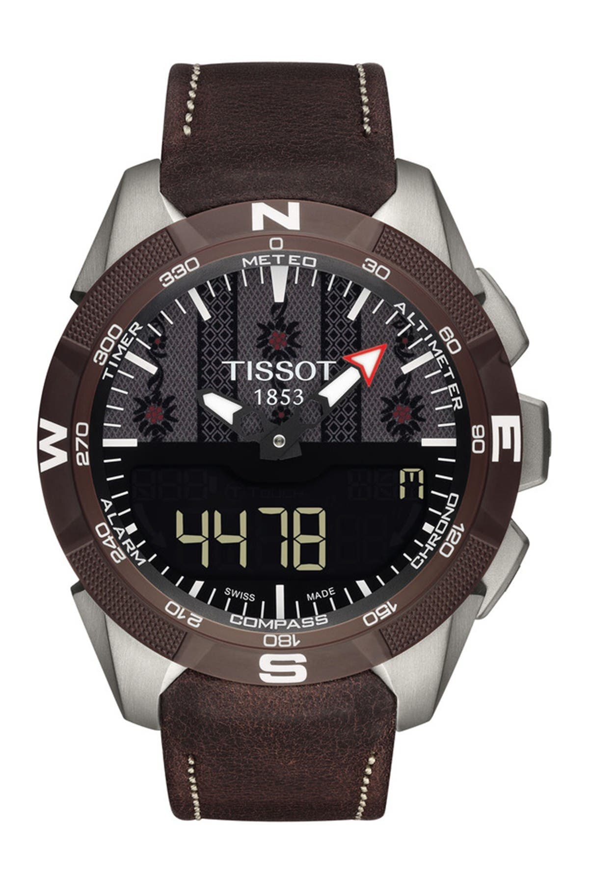 Image of Tissot Men's T-Touch Expert Solar II Swiss Edition Watch, 45mm
