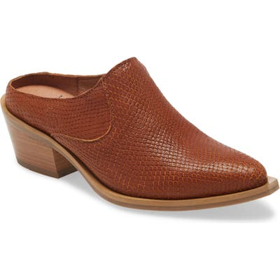 Fly London Ivot Mule - Brown