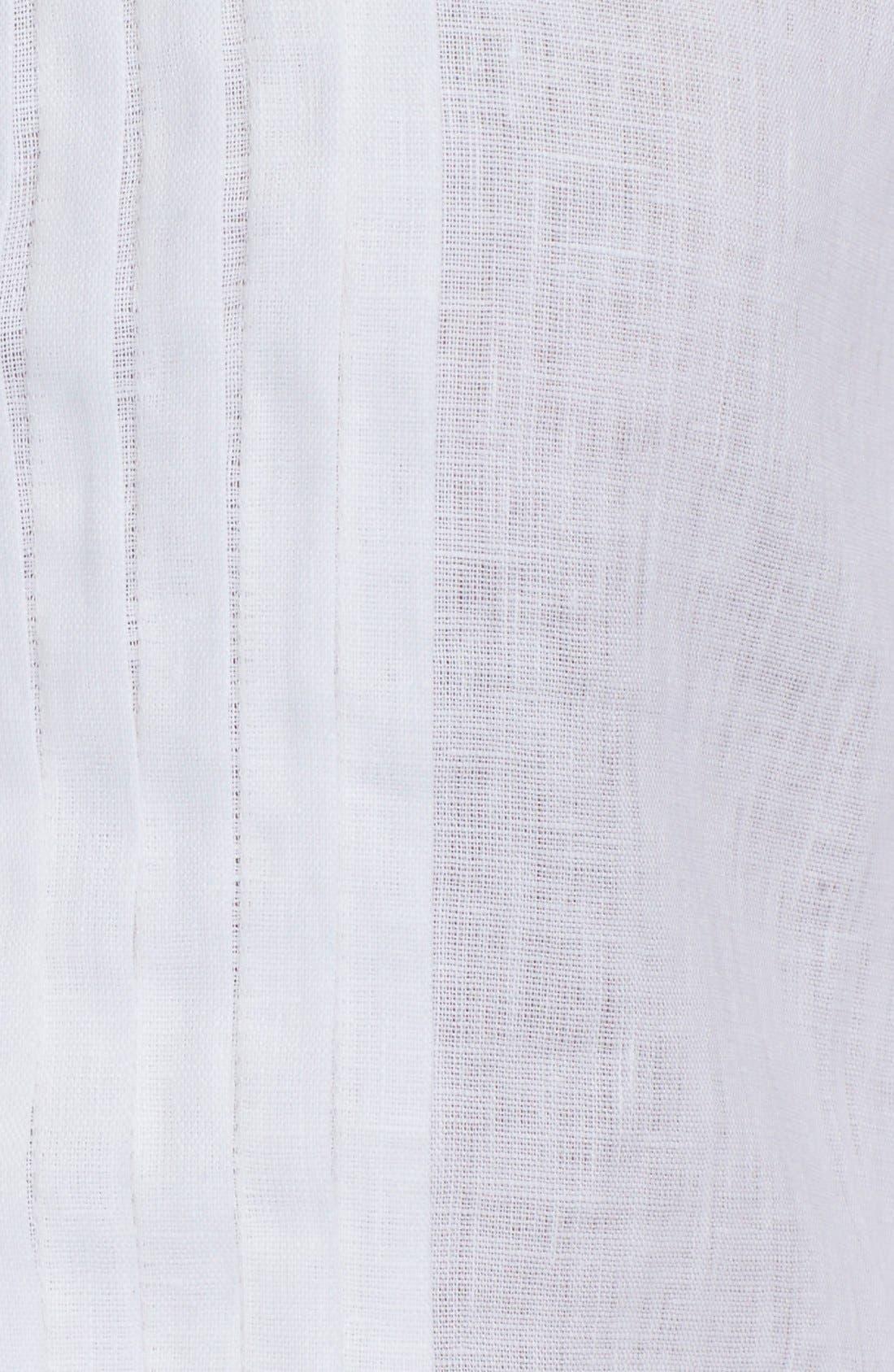 ,                             Linen Tunic Shirt,                             Alternate thumbnail 4, color,                             100