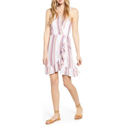Rails Madison Ruffle Sleeveless Wrap Dress