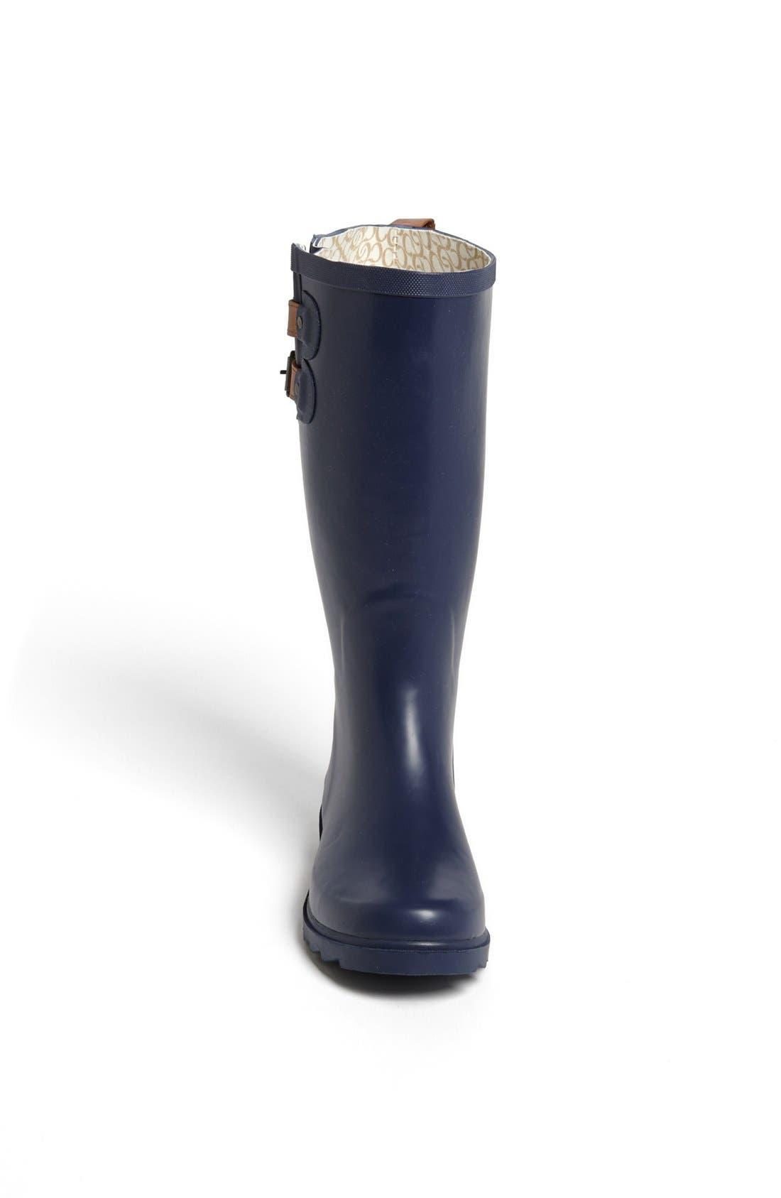 ,                             'Top Solid' Rain Boot,                             Alternate thumbnail 72, color,                             421