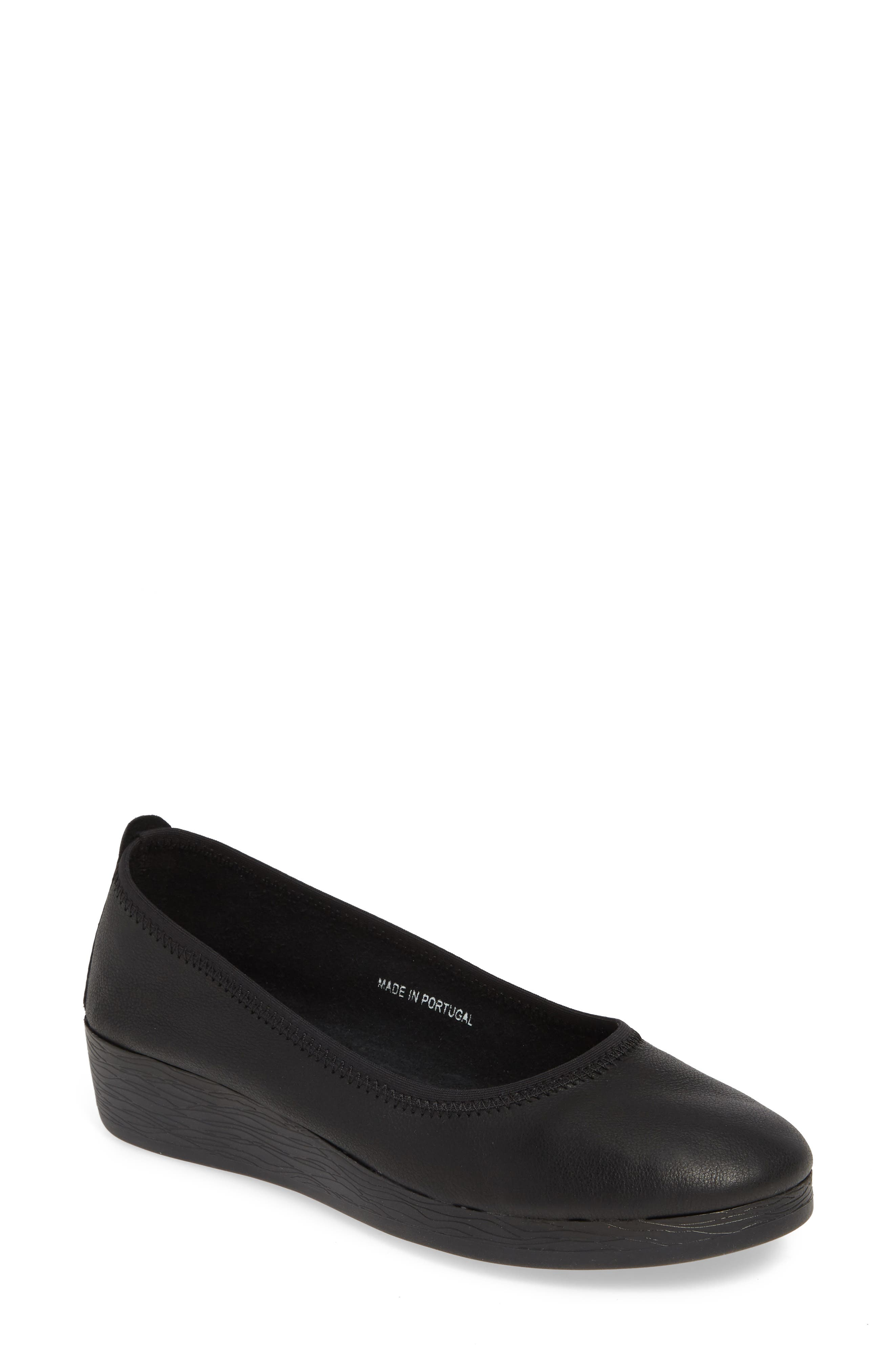 Softinos By Fly London Avo Flat, Black