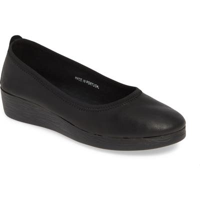 Softinos By Fly London Avo Flat - Black