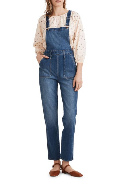 Madewell Overalls STOVEPIPE OVERALLS