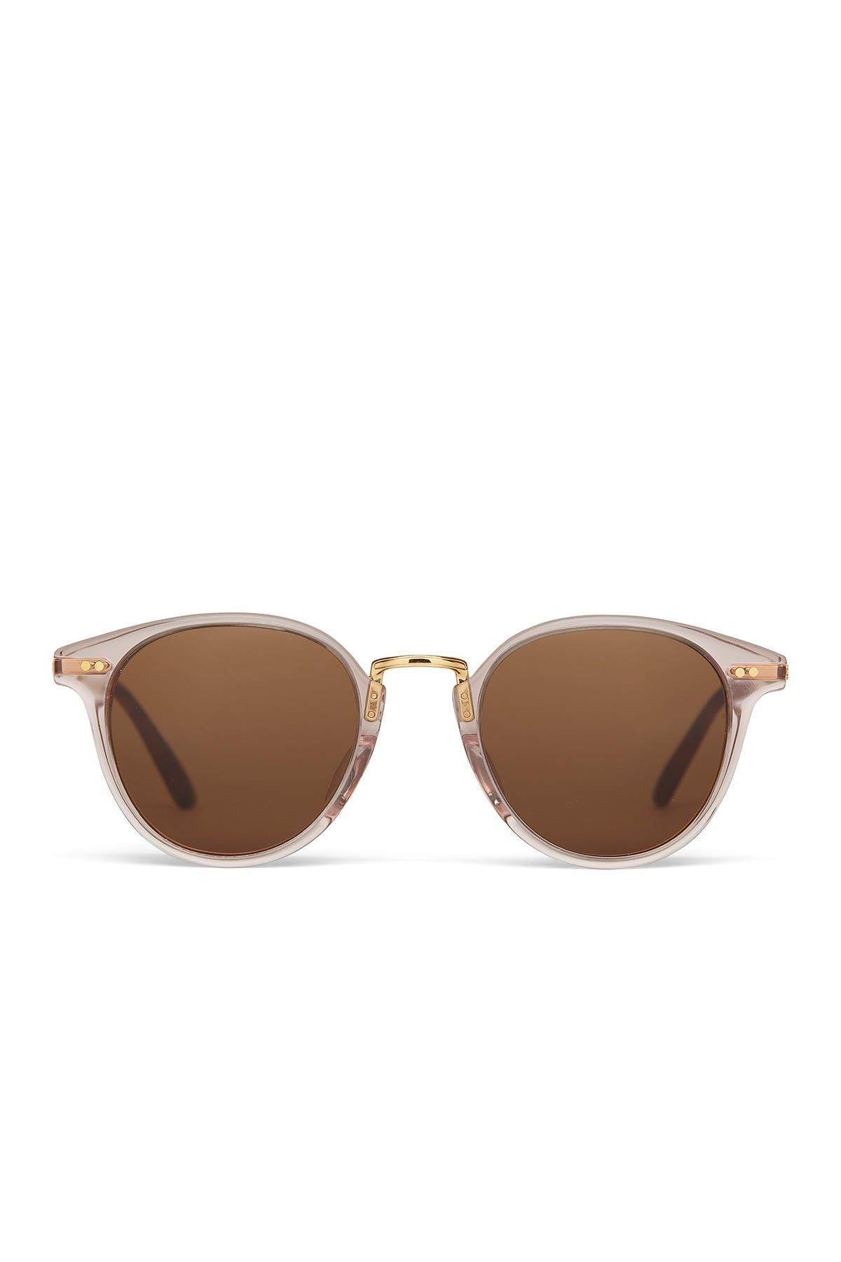 Image of TOMS Bellini 48mm Round Sunglasses