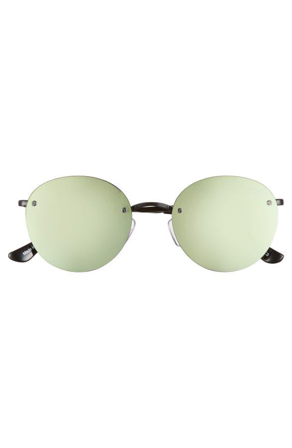 bdd685a9113ad Quay Australia x Elle Ferguson Farrah 53mm Round Sunglasses