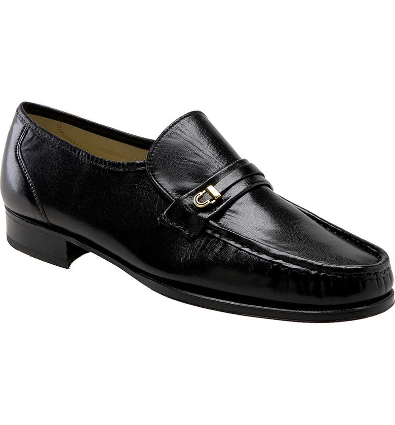 FLORSHEIM 'Como Imperial' Roll-Front Moccasin, Main, color, 001