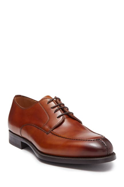 Image of Magnanni Teodoro Canela Leather Derby