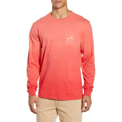 Southern Tide Original Skipjack Long Sleeve Pocket T-Shirt