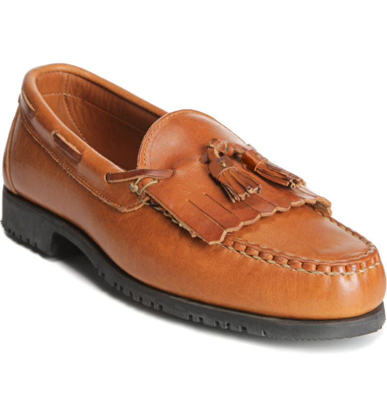 ALLEN EDMONDS 'Nashua' Tassel Loafer, Main, color, TAN