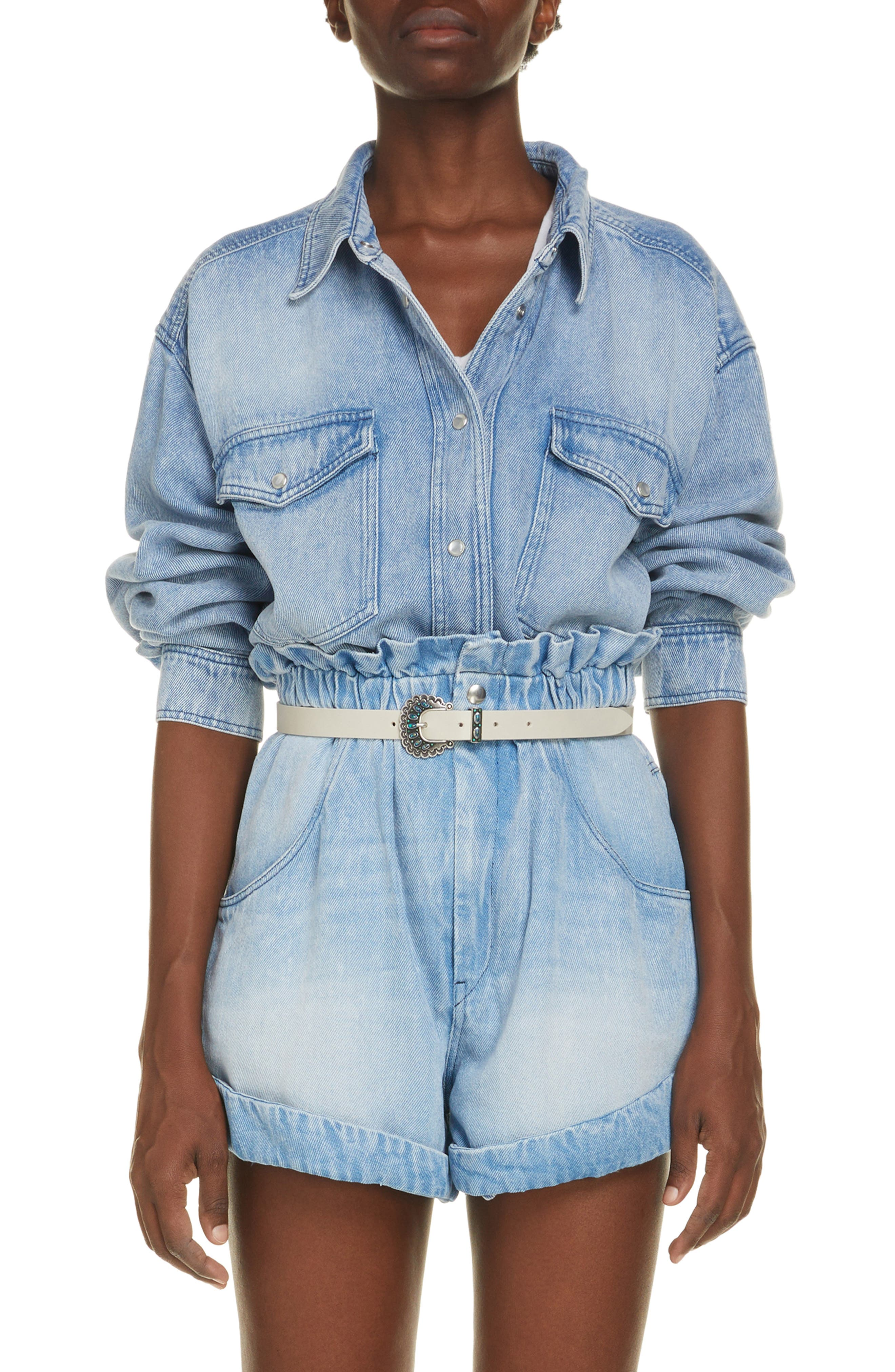 Women's Isabel Marant Etoile Tania Denim Shirt