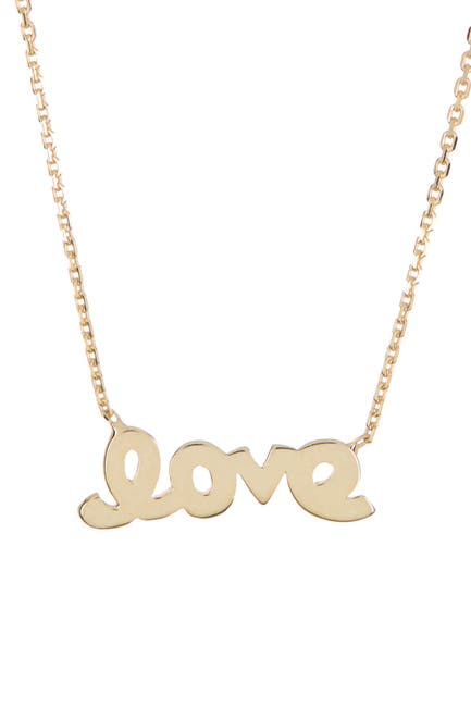 Image of Candela 10K Gold Love Necklace