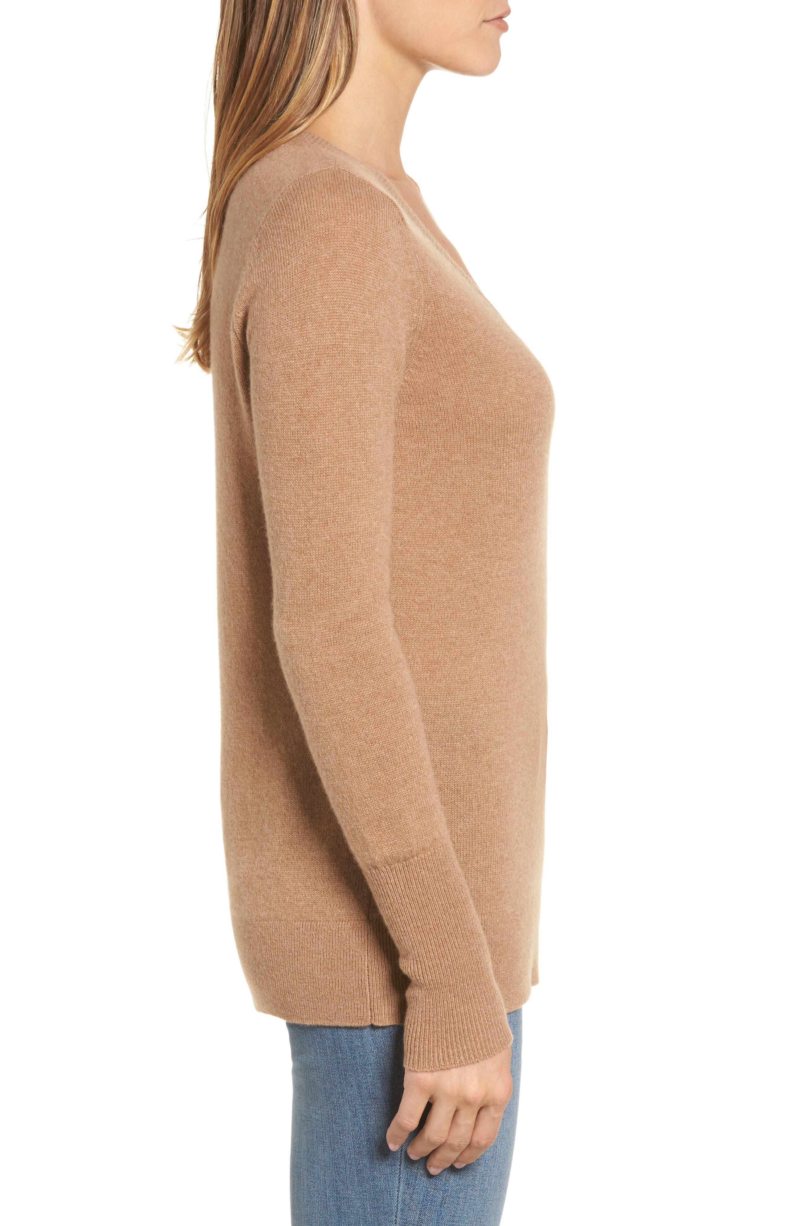 ,                             V-Neck Cashmere Sweater,                             Alternate thumbnail 26, color,                             235