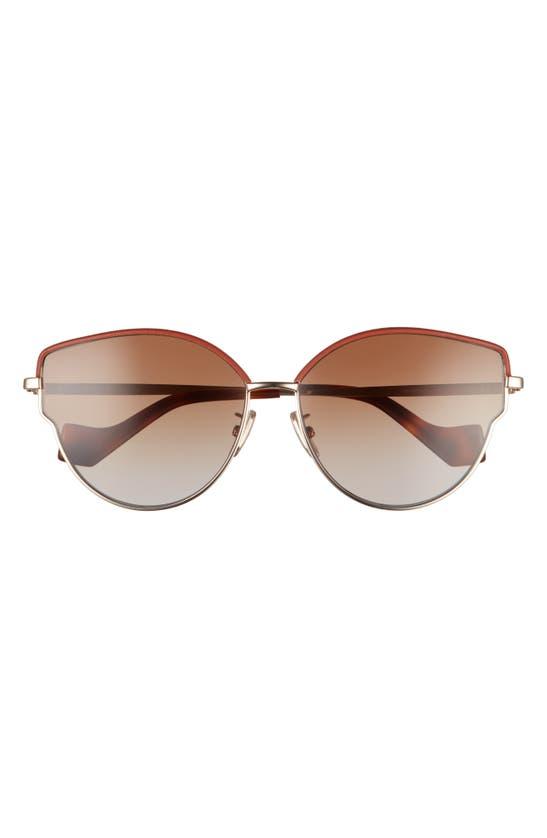 LOEWE Sunglasses 60MM GRADIENT BUTTERFLY SUNGLASSES