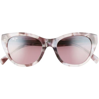Maui Jim Capri 51mm Polarizedplus2 Cat Eye Sunglasses - Purple Havana
