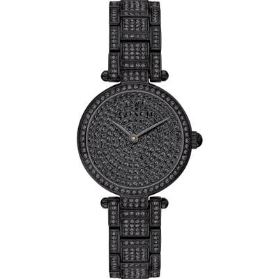 Coach Park Crystal Embellished Bracelet Watch, 2m