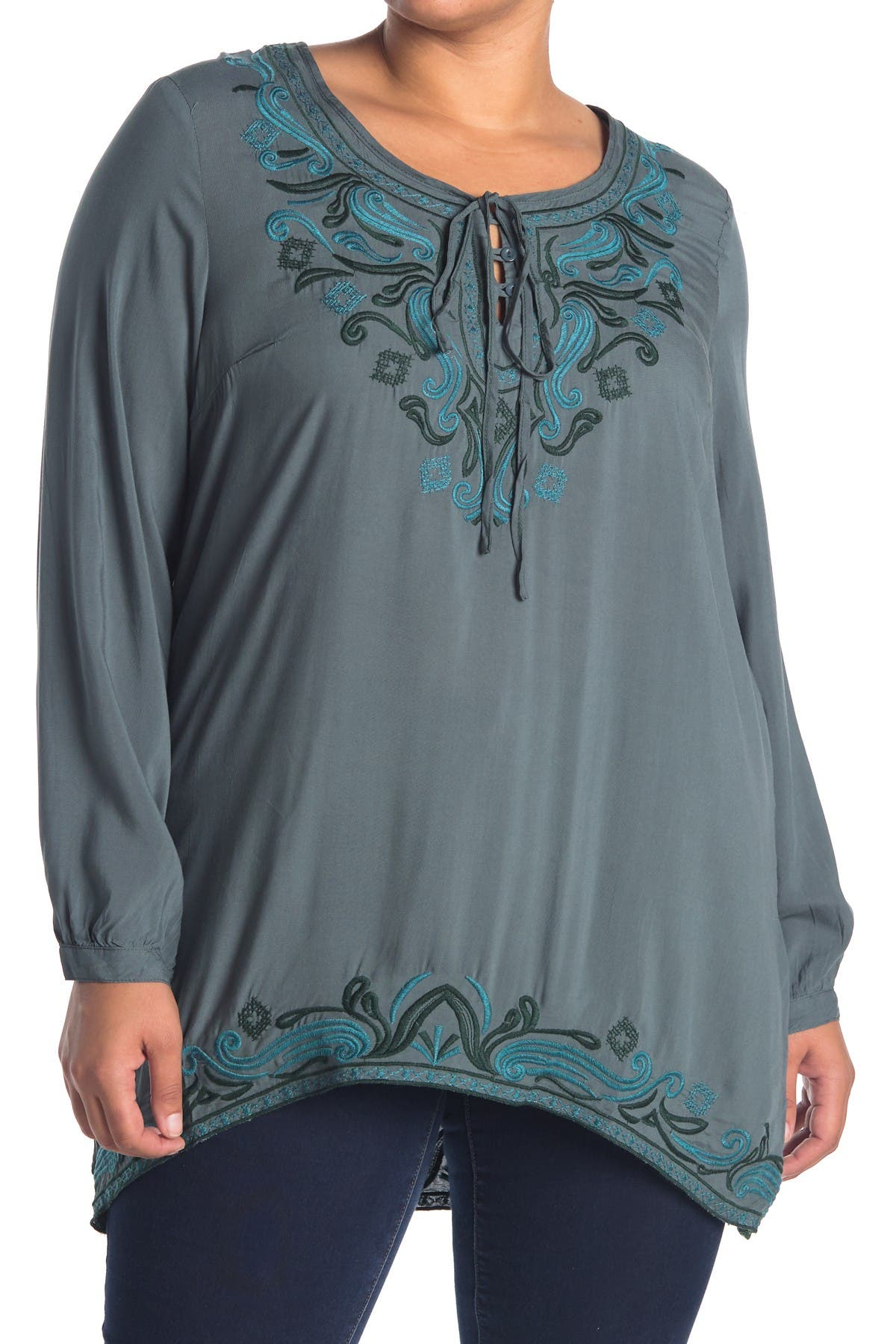 Image of Forgotten Grace Embroidered Tunic