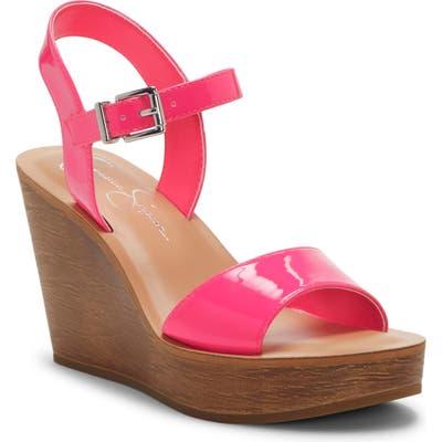Jessica Simpson Miercen Wedge Sandal, Pink