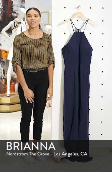 Lace Back Gown, sales video thumbnail