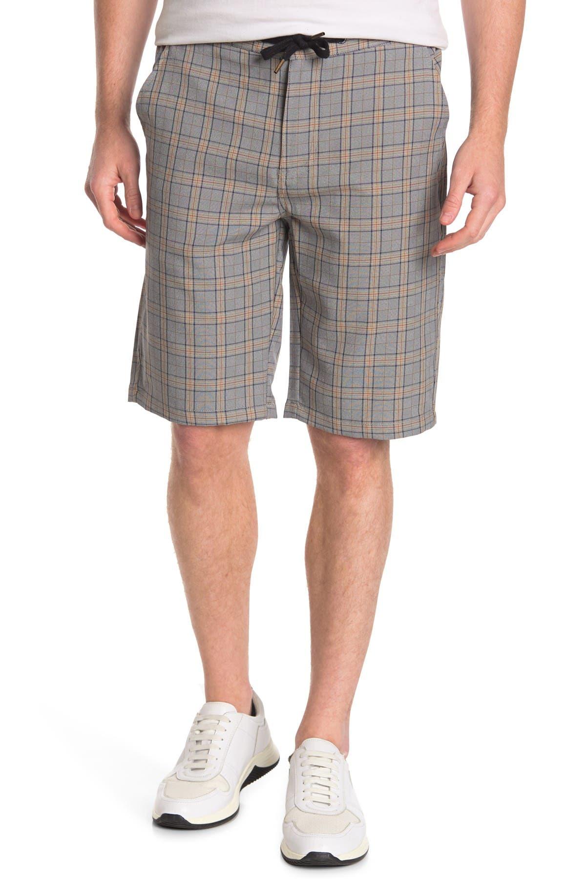Image of Ezekiel Mantle Plaid Shorts