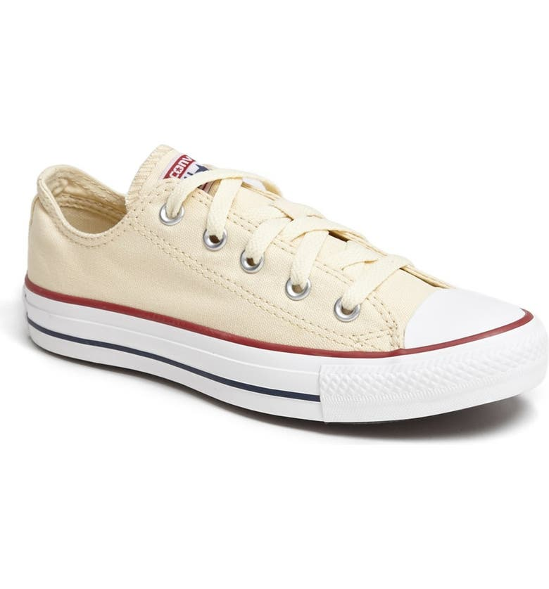 CONVERSE Chuck Taylor<sup>®</sup> All Star<sup>®</sup> 'Ox' Sneaker, Main, color, 100