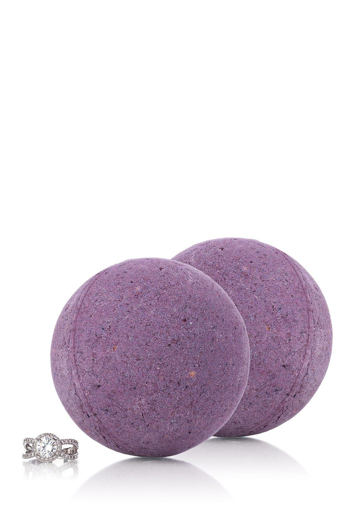 Image of Pearl Bath Bombs Love Potion Bath Bomb with Luxury Ring Surprise - Set of 2