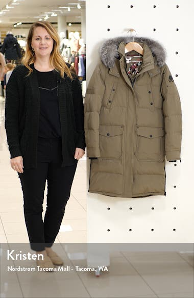 Causapcal Water Resistant Hooded Down Parka with Genuine Fox Fur Trim, sales video thumbnail