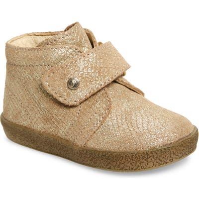 Toddler Naturino Conte Vl Sparkle Chukka Boot, US / 20EU - Metallic