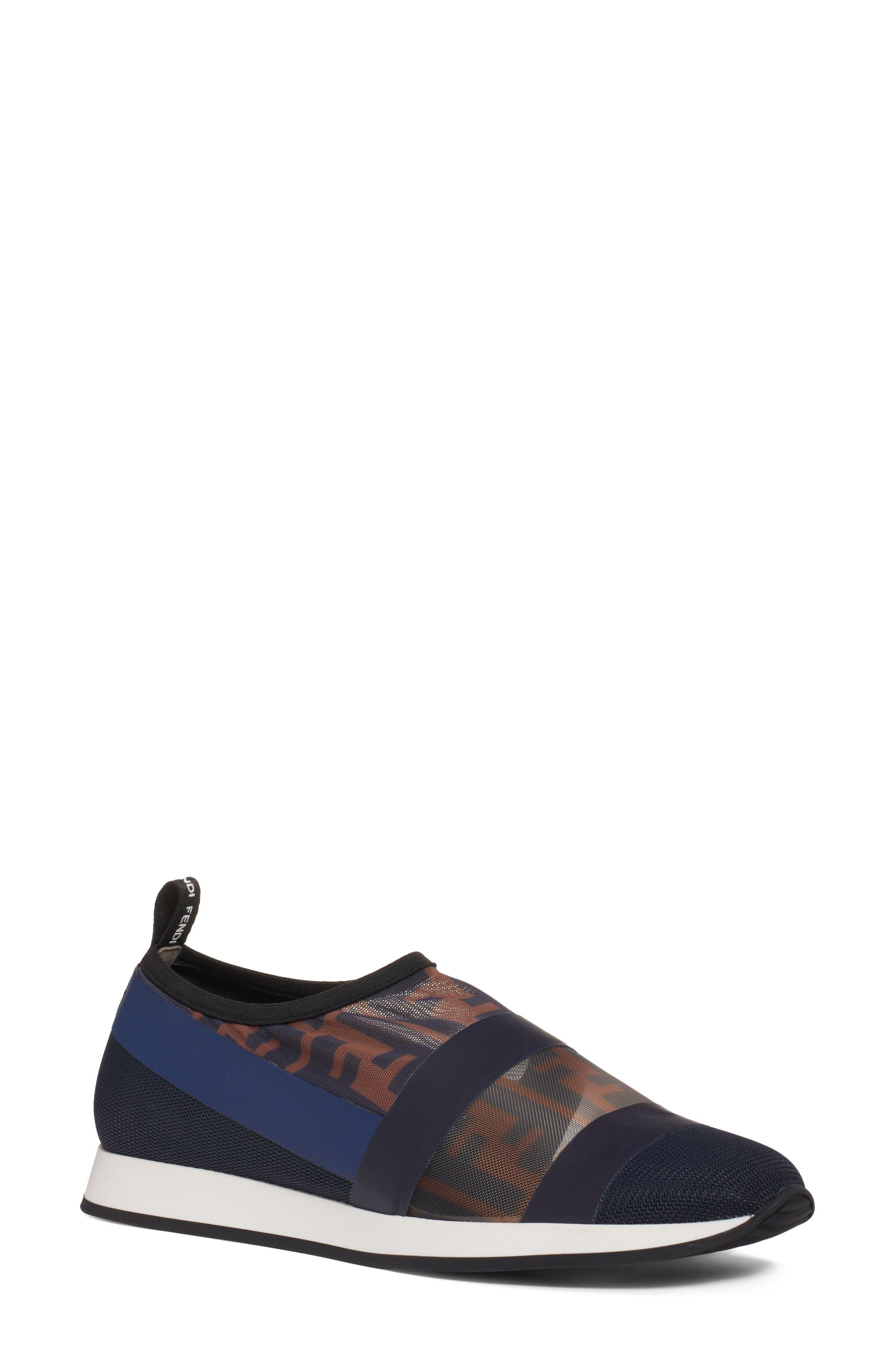 Fendi Logo Slip-On Sneaker (Women